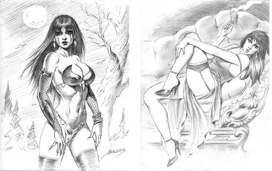 warmup drawings -2 women