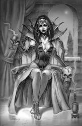 Vampire Queen by PaulAbrams