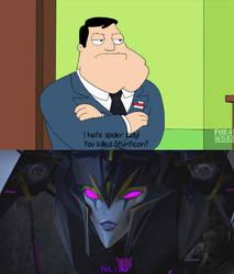 Stan vs Airachnid