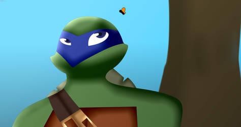 Leonardo and Butterfly (UNIVERSEAU)