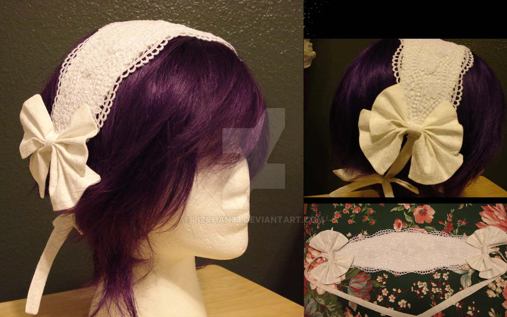 Snowy Classic Headdress by Lizchan33