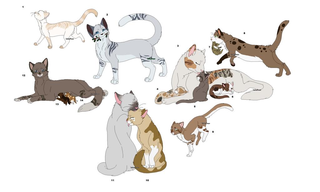 Warrior Cat Art Full Body