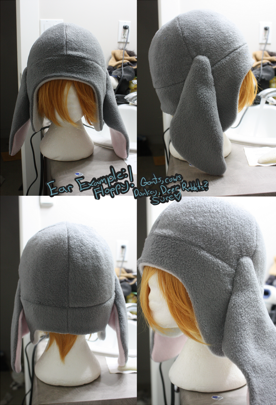 +FleeceHat:Example+ Floppy Ear Pattern. by Stephys-Adoptables