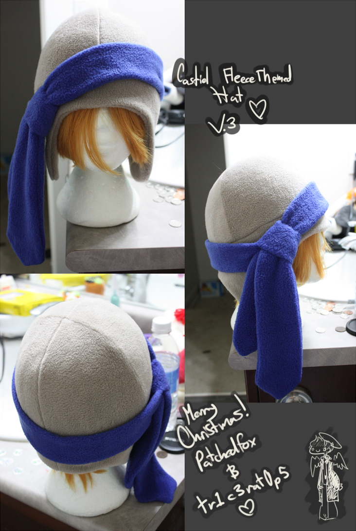 +FleeceHat:Custom+ Castiel Themed v.3 by Stephys-Adoptables