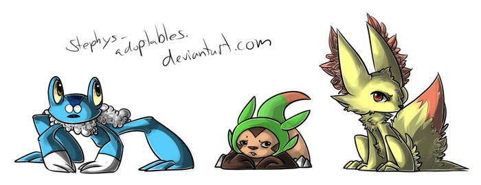 +Artwork+ X and Y Starters.