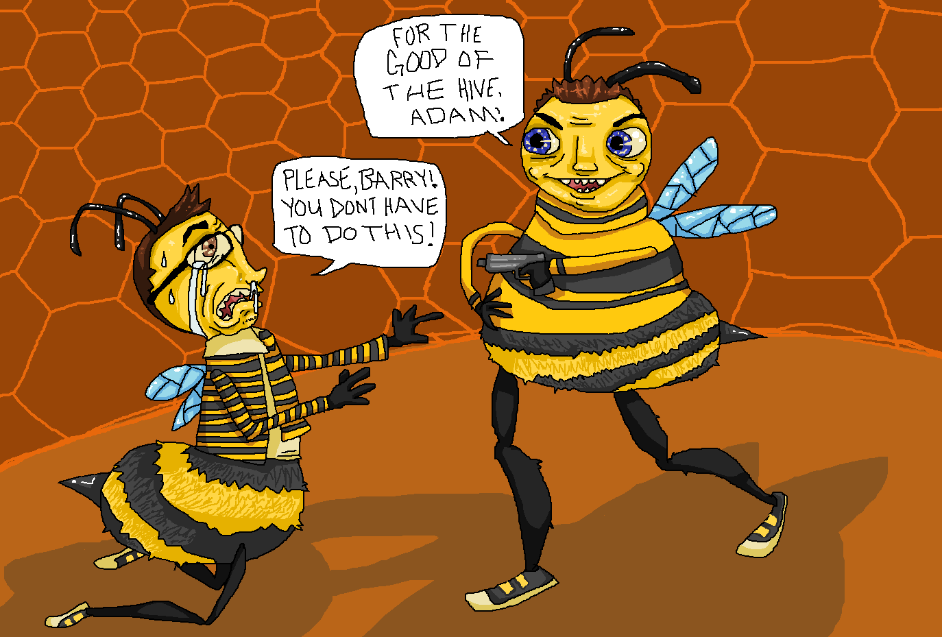 The Bee Movie By Pudgley