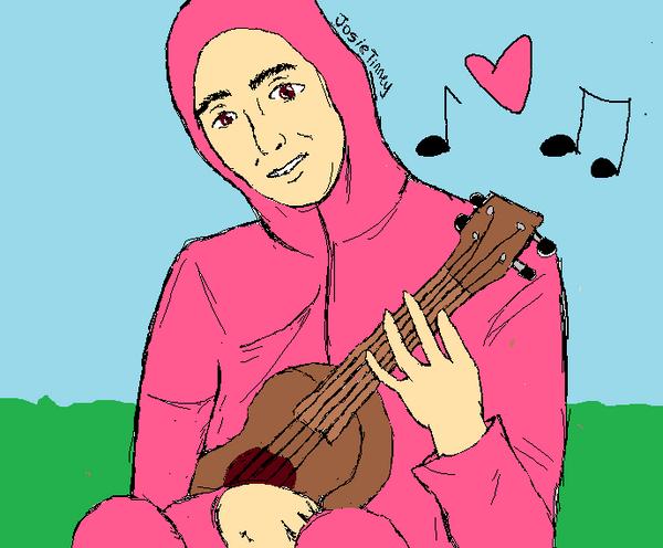 Pink Guy (Papa Franku) by marilynmanson056