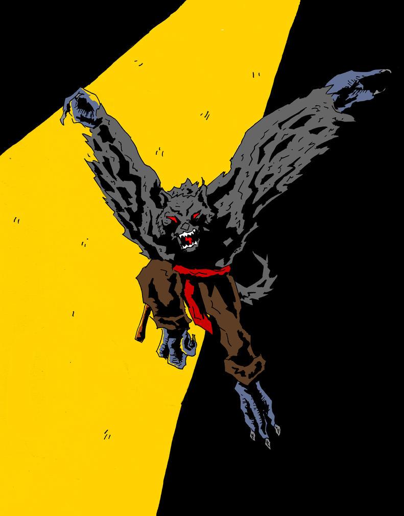 Tengu Werewolf Color Hi by Sighter