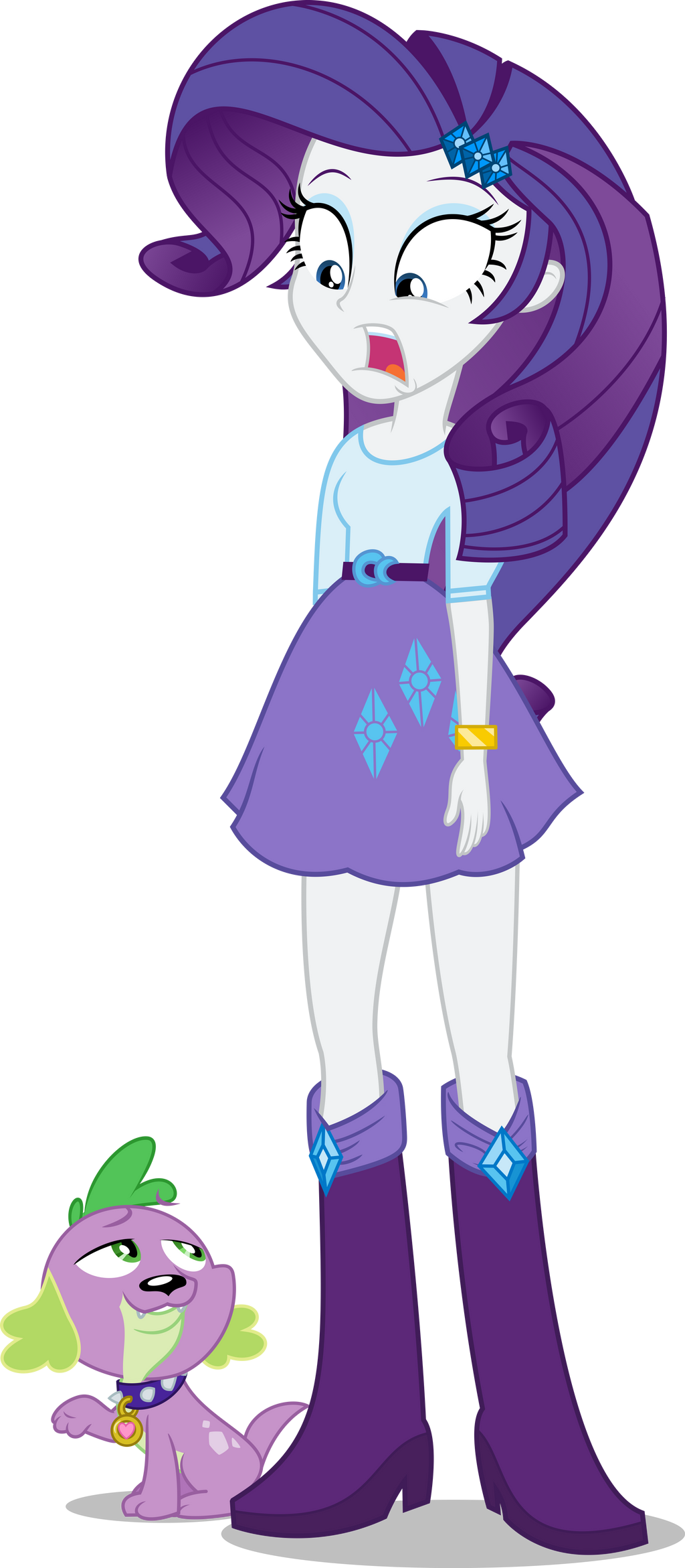 Equestria Girls - Rarity - Gah by Fangz17 on DeviantArt