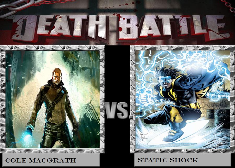 Cole VS Static Death Battle by Ghostdog123765
