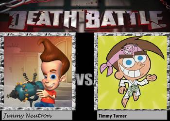 Jimmy VS Timmy Deathbattle by Ghostdog123765