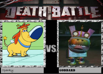 Sparky VS Goddard Death Battle by Ghostdog123765