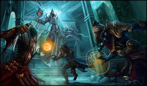 Final confrontation by emilus