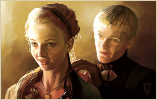 Sansa-Stark-and-Joffrey-Baratheon