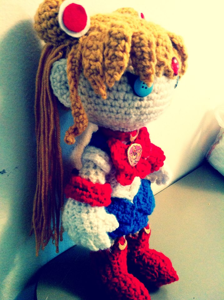Moon Amigurumi Pattern Free : Sailor Moon Amigurumi by MyBloodyDeadZombie on DeviantArt