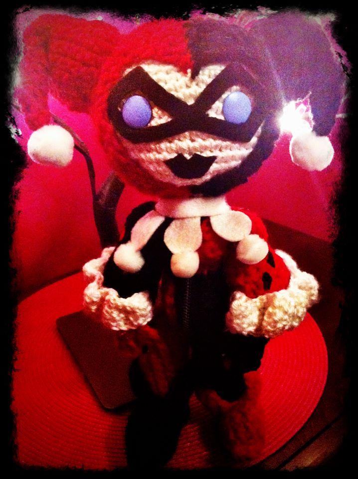 Harley Quinn Amigurumi by MyBloodyDeadZombie on DeviantArt