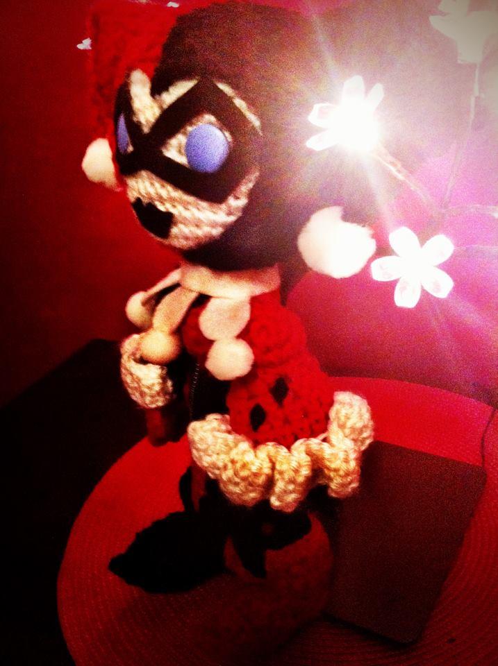 Amigurumi Harley Quinn : Harley Quinn Amigurumi by MyBloodyDeadZombie on DeviantArt