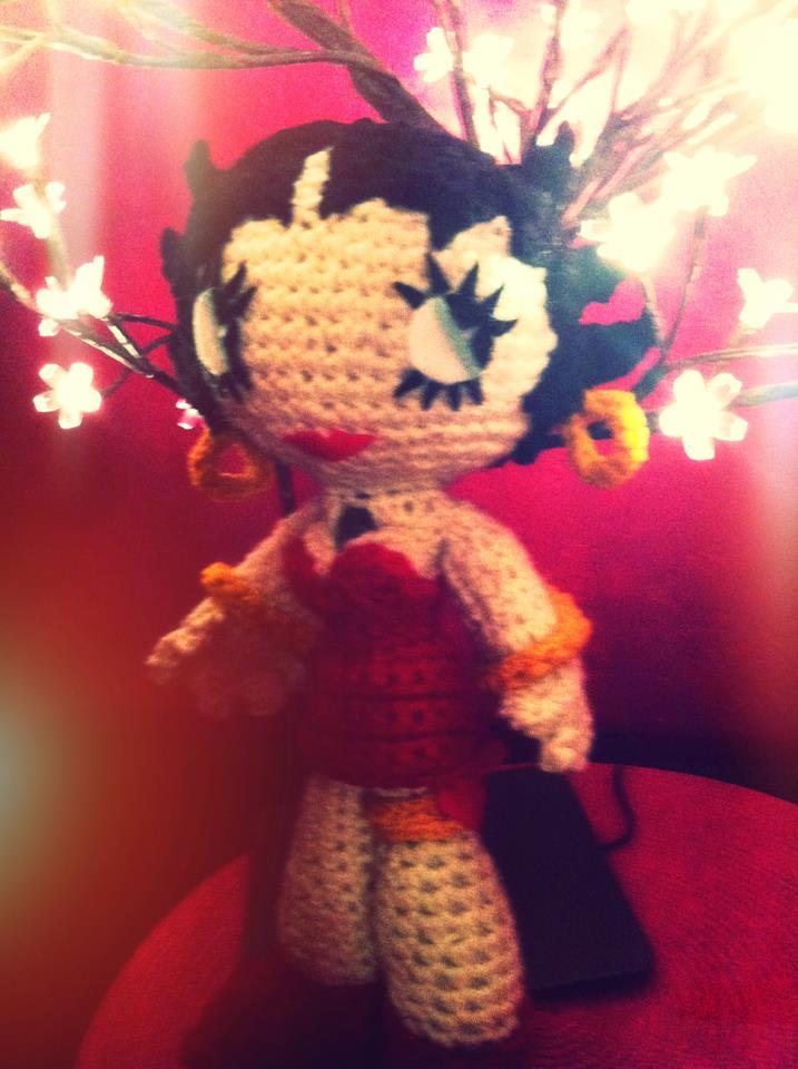 Betty Boop Amigurumi by MyBloodyDeadZombie on DeviantArt