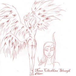 Neve Sluagh (OC sketch)