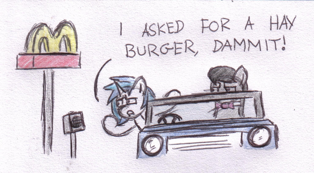 Hay Burger by bobthedalek