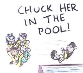 The Pool by bobthedalek