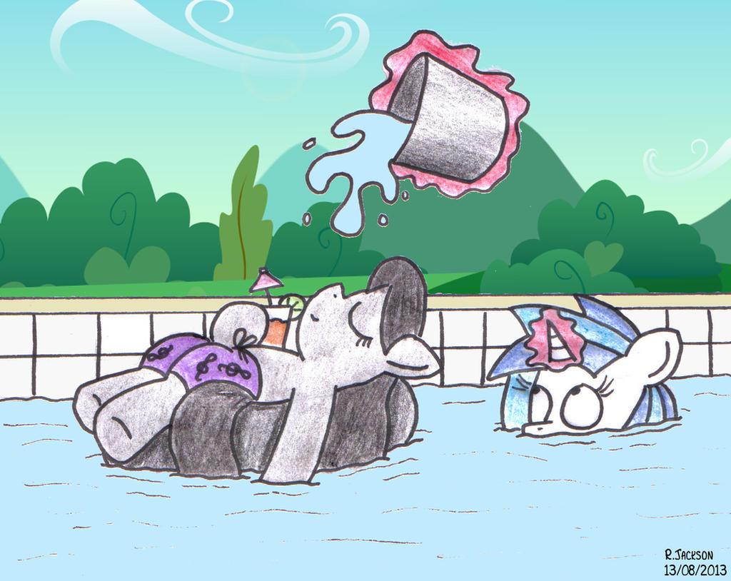 Floating by bobthedalek