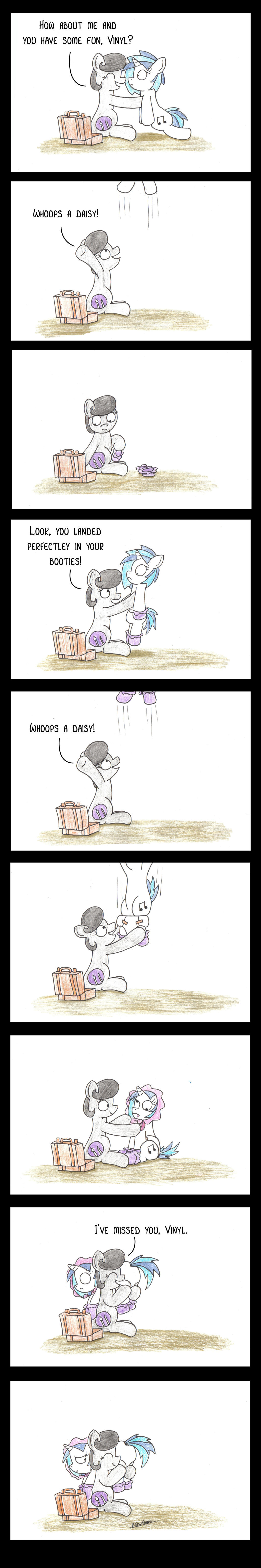 Whoops A Daisy by bobthedalek
