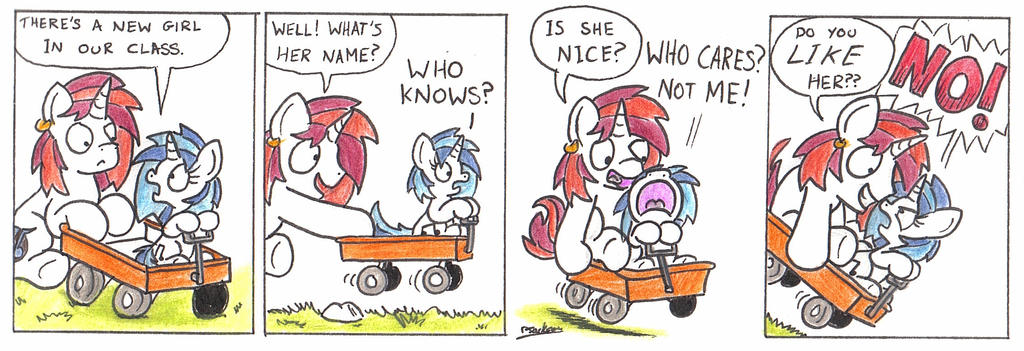 New Girl by bobthedalek