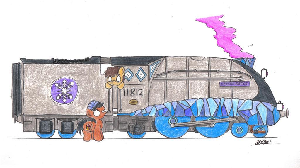 Crystal Express by bobthedalek