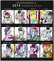 2016 in Review by bobthedalek