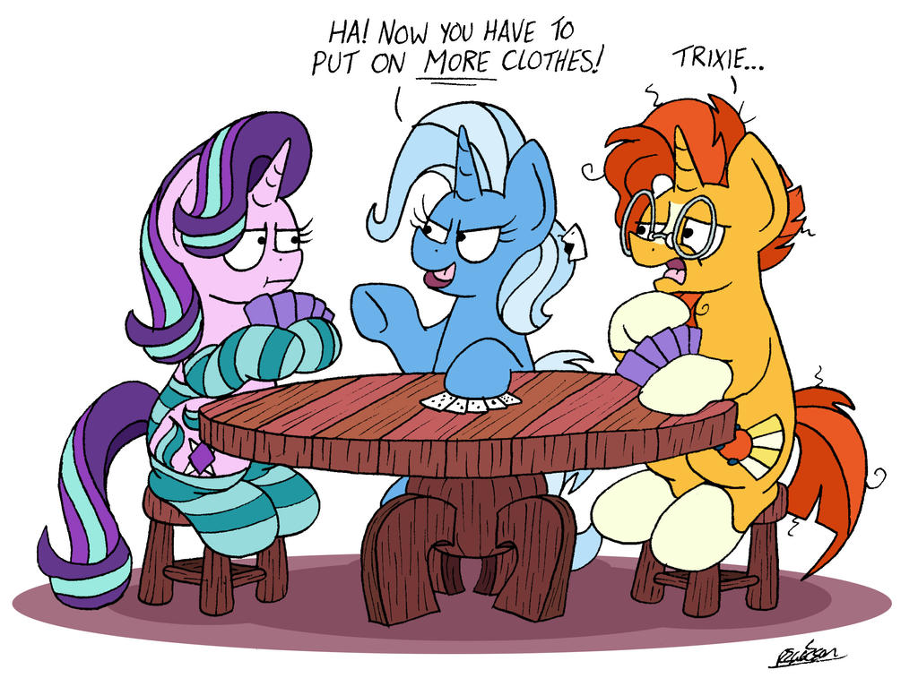 Dress Up Poker by bobthedalek