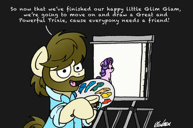 The Joy Of Pony by bobthedalek