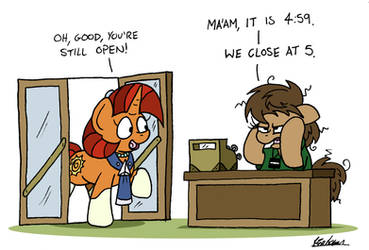 Closing Time by bobthedalek