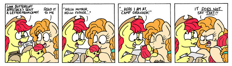 Letters from Applejack