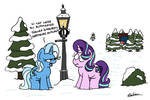 The pony the wizard and the wardrobe