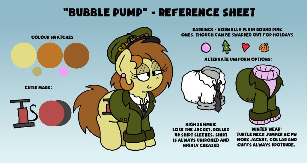 Bubble Pump - Reference Sheet