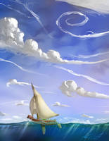 Wind Waker tribute by KvMartin