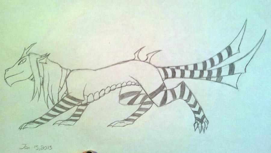 Mucamutara 2013 sketch by MidnightPurpleDragon