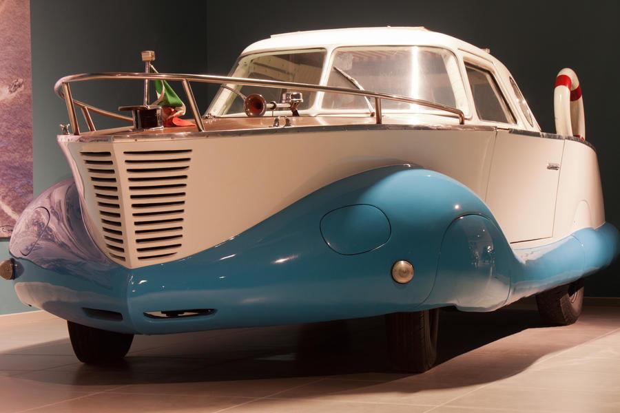 Fiat Boat-Car by janvansanten