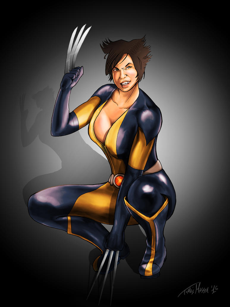 Female Wolverine by TomasMassa