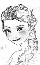 Elsa Fan art by peculiarone
