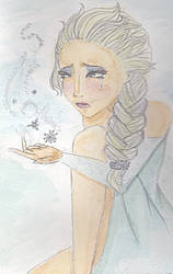 Elsa Watercolor by peculiarone
