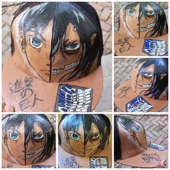 Attack on Titan Cap by peculiarone