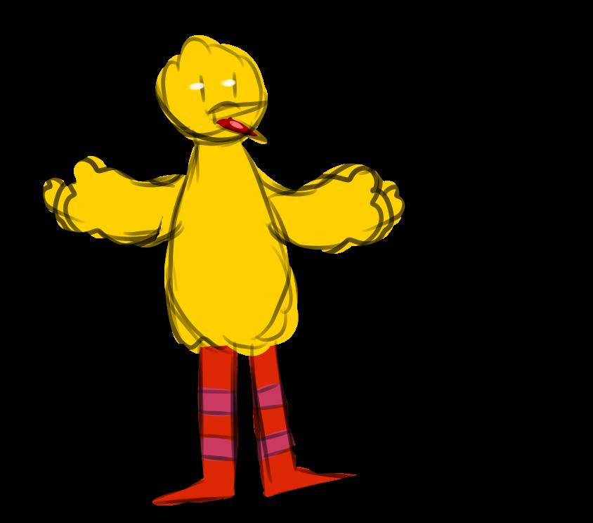 big bird is not a rapist.png by miribork on DeviantArt