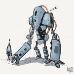 Robot by SPUD0NKEY