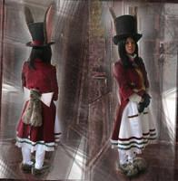 Alice: Late But Lucky cosplay, full by zeemenace