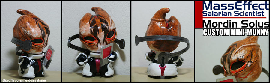 Mass Effect Mordin Solus mini-Munny by zeemenace