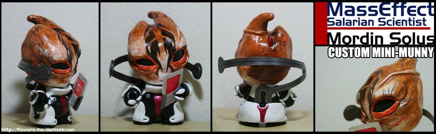 Mass Effect Mordin Solus mini-Munny by zeemenace