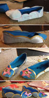 Soul Calibur IV Xianghua (alternate) shoes! by zeemenace
