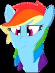 Rainbow Dash Tribute by N0KKUN
